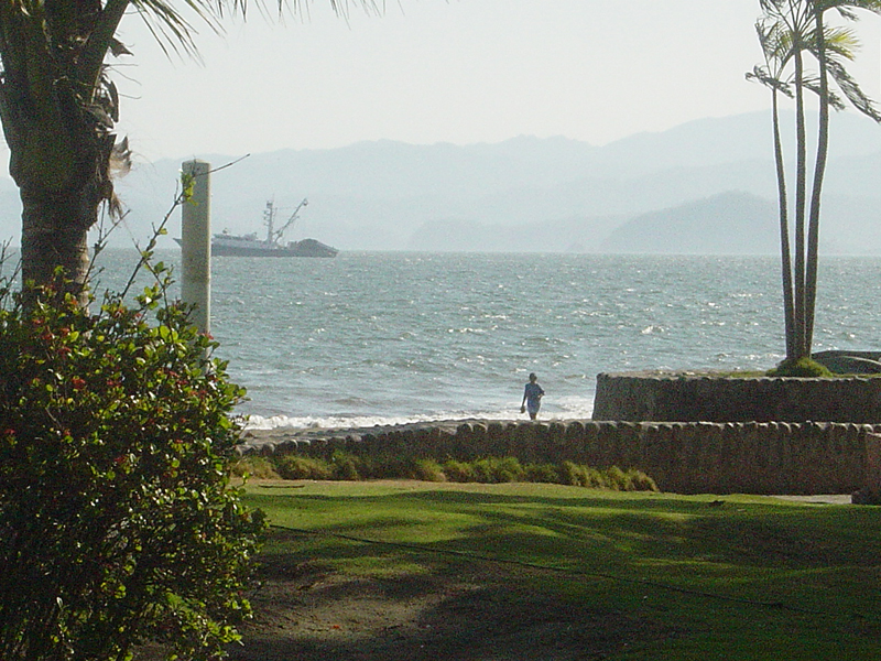 Puntarenas, Costa Rica with Nicoya Peninsula in Background