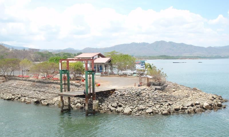 Ferry Boat Dock Playa Naranjo, Nicoya Peninsula, Costa Rica