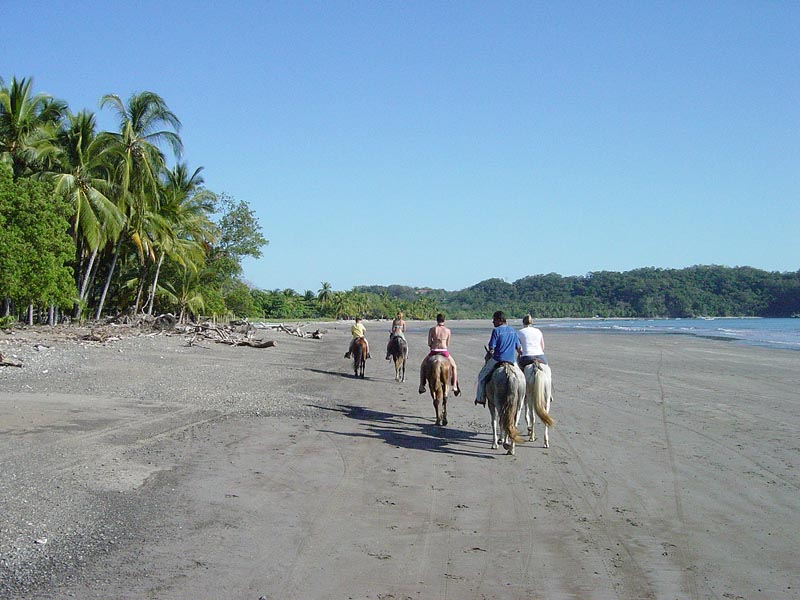 Horseback riding Playa Carrillo, Nicoya Peninsula Costa Rica