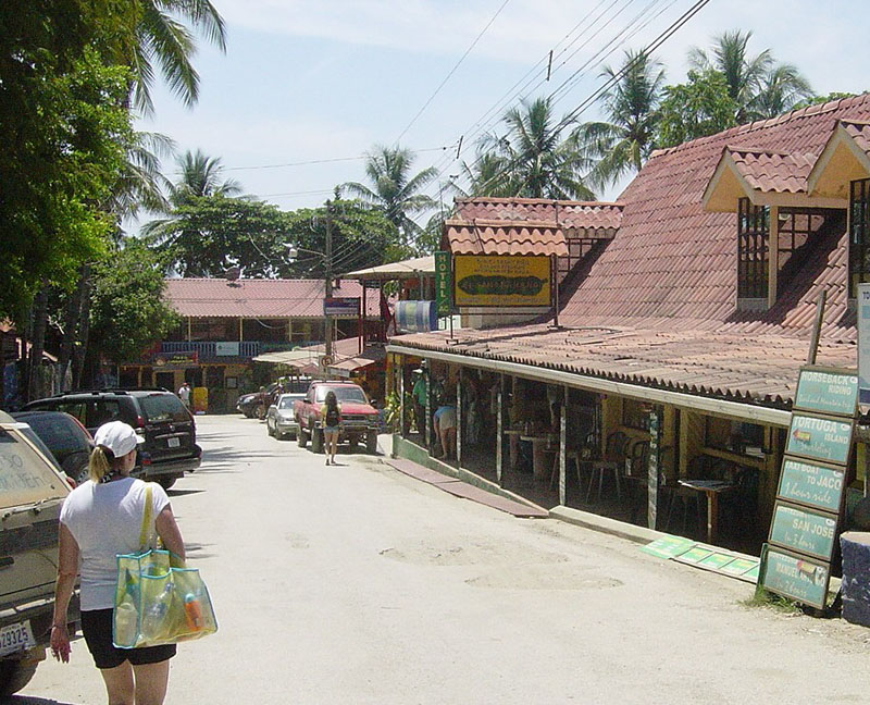 Main street Montezuma, Nicoya Peninsula, Costa Rica