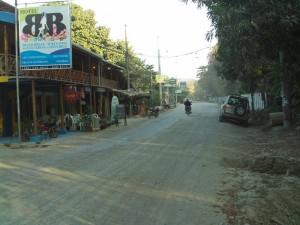 Santa Teresa Main Street, Nicoya Peninsula, Costa Rica