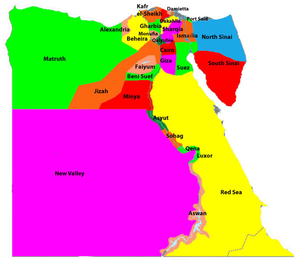 Egypt Travel GuideBeachcomber Pete Travel - Map of egypt red sea area