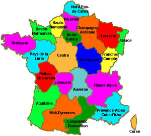 France Map Of France Regions Of France Map France Travel - Map of france
