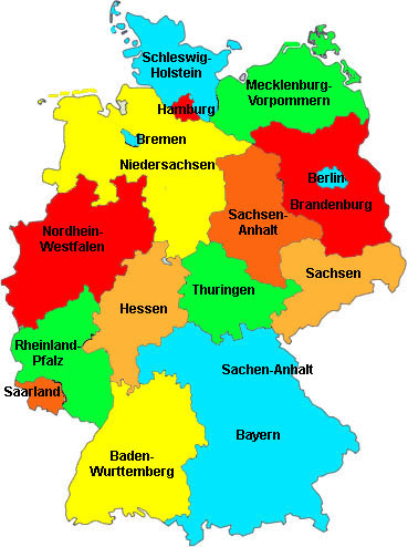Capital Of Germany Map.Germany Beachcomber Pete Travel