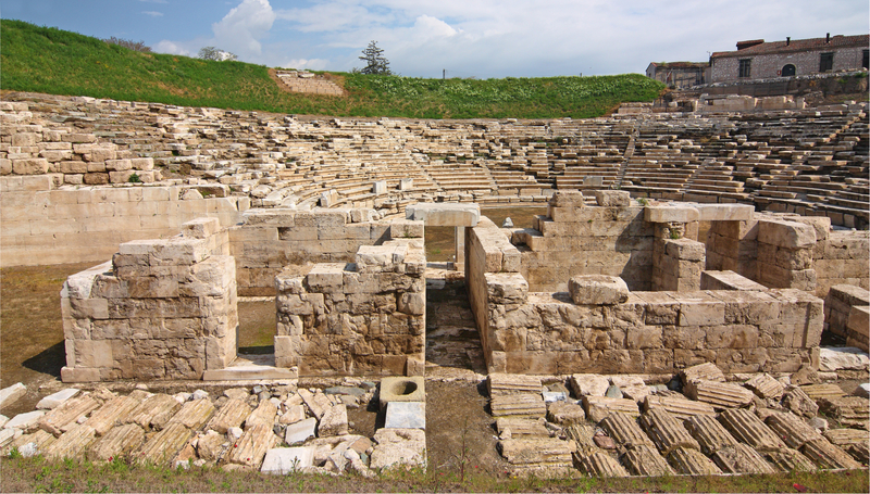 Ancient Theater of Larissa, Greece