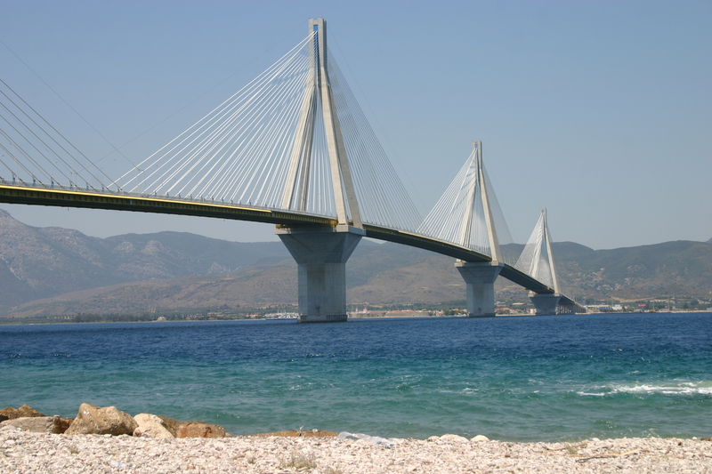 Cable Stayed Bridge, Patras, Greece