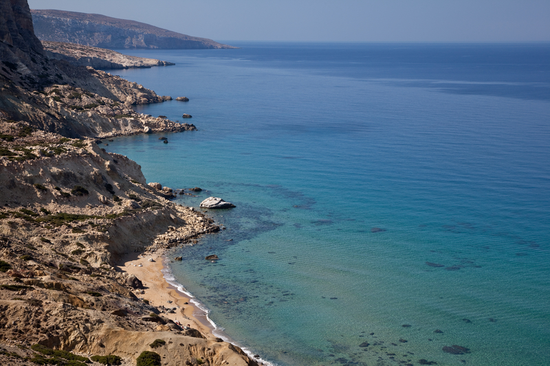 Coastline of Crete, Greece