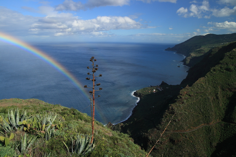 Coastline of La Palma, Canary Islands
