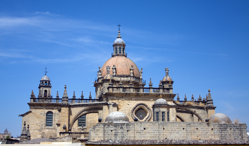 Jerez Cathedral in Andalusia, Spain