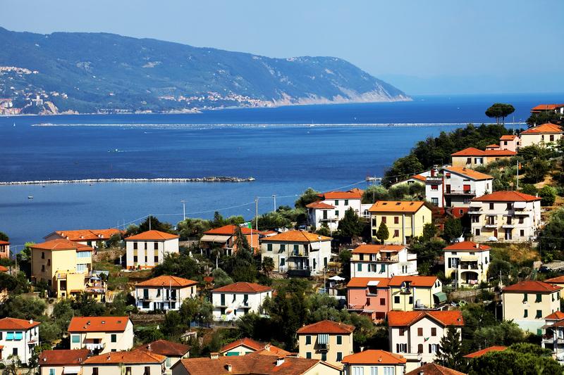 La Spezia Harbor, Ligurian Coast, Italy