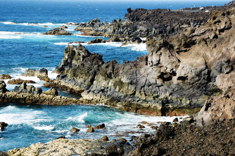 Los Hervideros, Lanzarote, Canary Islands