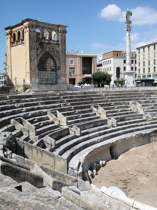 Roman Theater, Lecce, Italy
