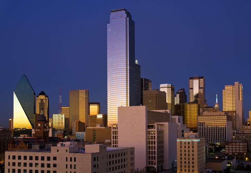 Skyline of Dallas, Texas