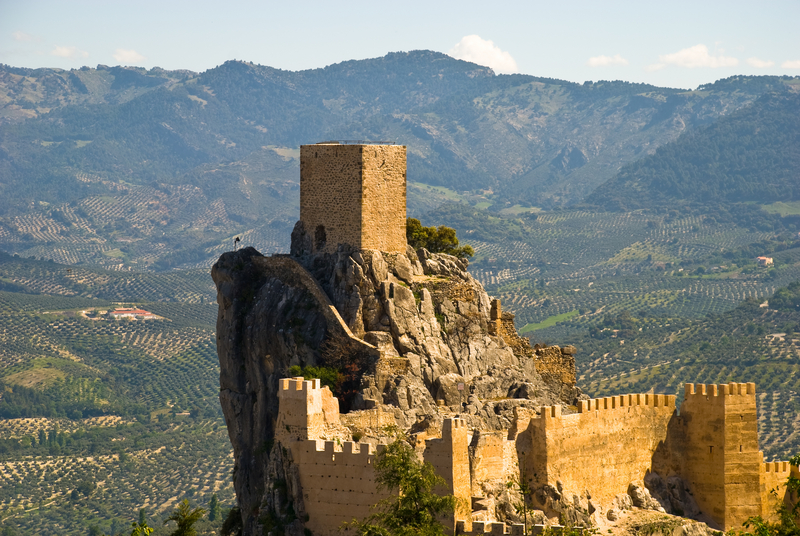 The Castle of Cazorla, Andalusia, Spian