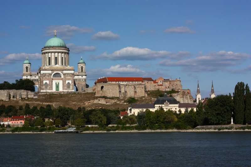 Basilica, Danube River, Esztergom, Hungary