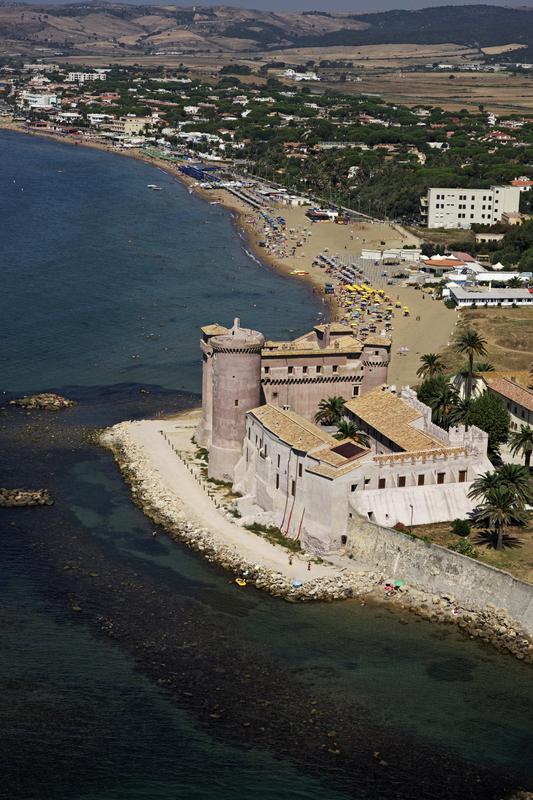 Castello Odescalchi, Ladispoli, Lazio, Italy