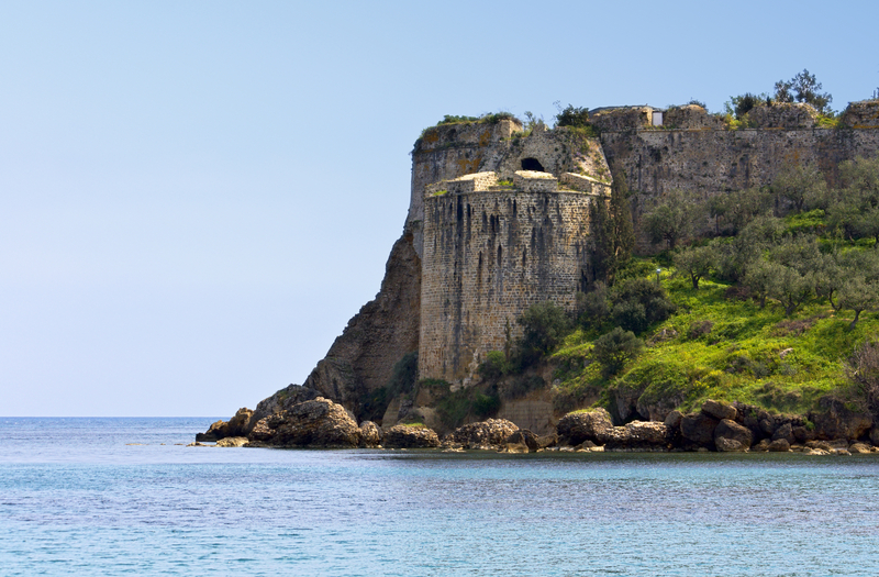 Koroni Castle, Peloponnese, Greece