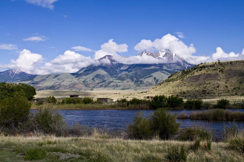 Montana range and mountains, United States