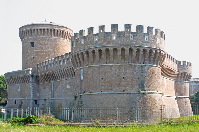 The Castle of Julius II, Ostia, Lazio, Italy