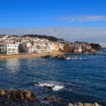 Calella coastline, Costa Brava, Spain