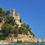 Castle of Sant Joan, Lloret de Mar, Costa Brava, Spain