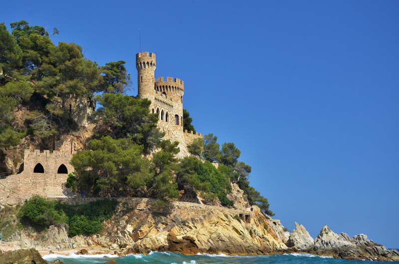 Castle of Sant Joan, Lloret de Mar, Costa Brava, Spain