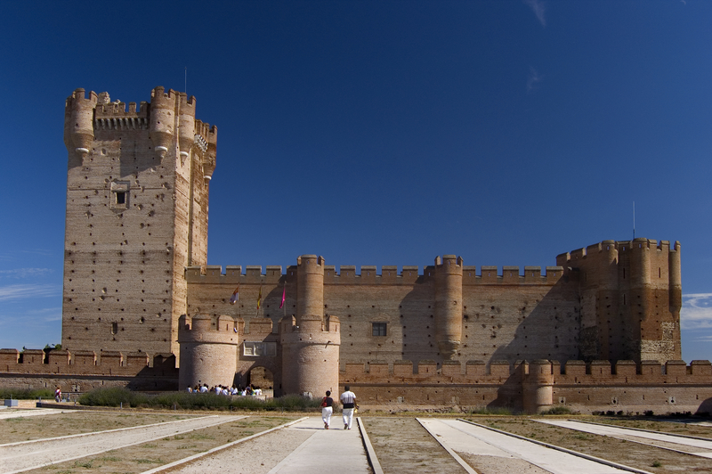 La Mota Castle, Valladolid, Spain