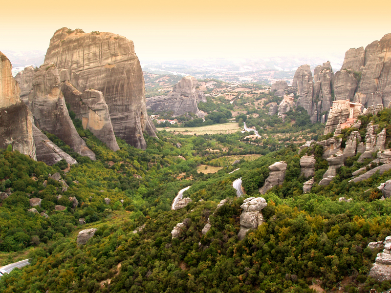 Meteora Rock, Central Greece
