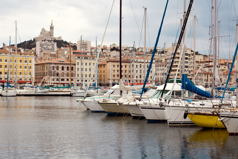 Port of Marseille, France