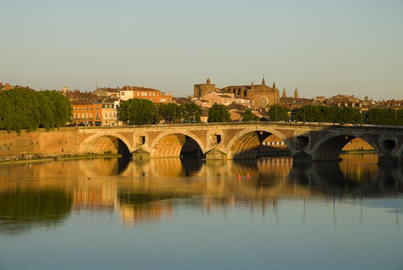 River Garonne, Toulouse, France