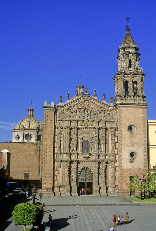 Church del Carmen, San Luis Potosi, Mexico