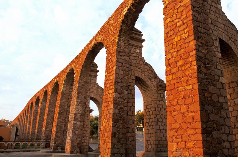 El Cubo aqueduct, Zacateca, Mexico