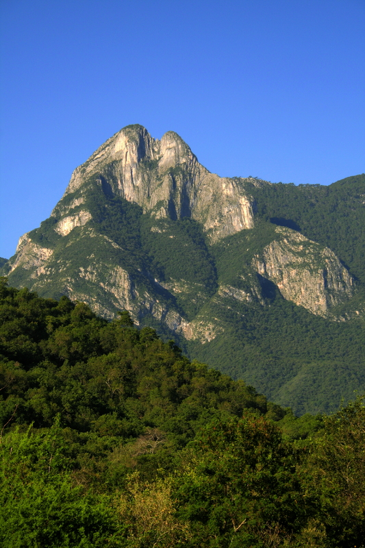 Mountains near Linares in Nuevo Leon, Mexico