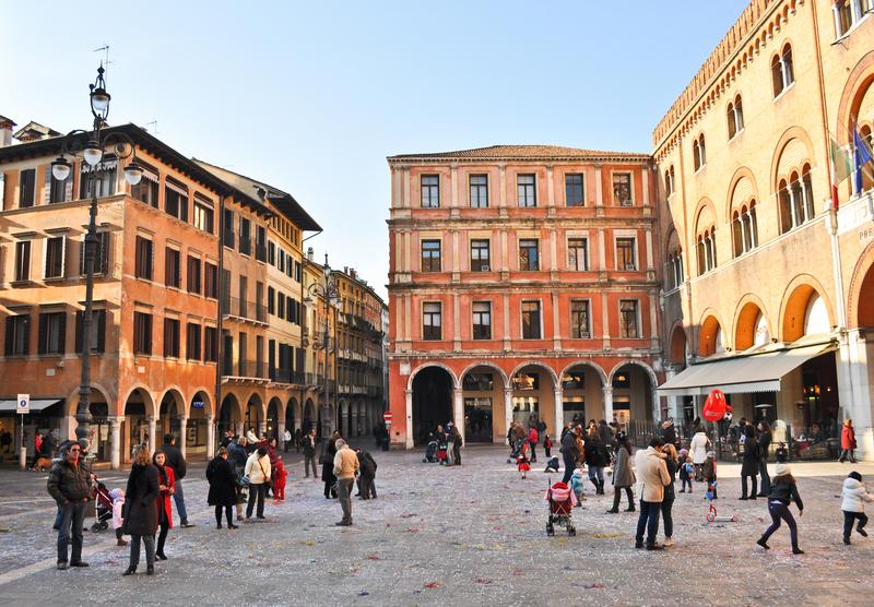 Piazza dei Signori, Italy