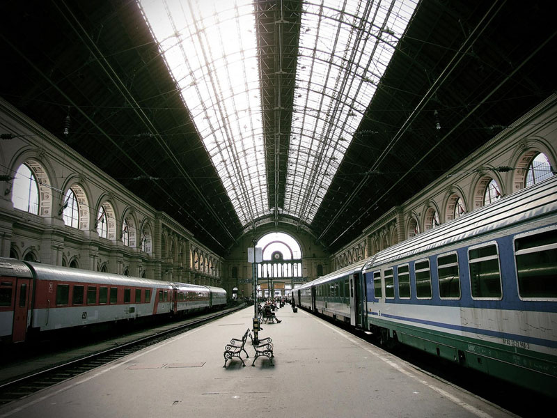 Keleti Eastern Railway Station, Budapest Hungary