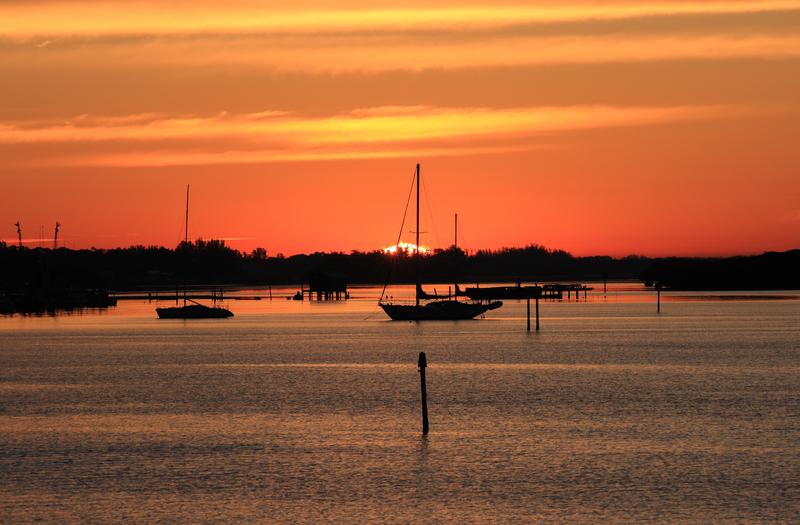 Early Morning Sailing Sarasota, Florida