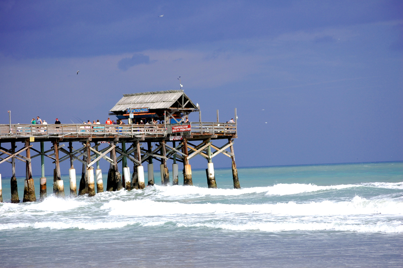 Fishing Pier Cocoa Beach, Florida
