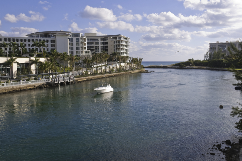 Intra Coastal Waterway, Boca Raton, Florida