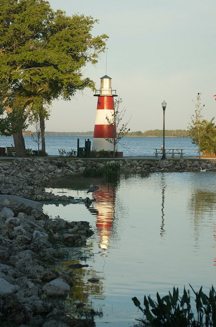Lake Dora Light House, Mount Dora, Florida By Nathan Seabury