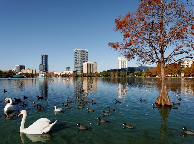 Lake Eola, City Beautiful, Orlando Florida