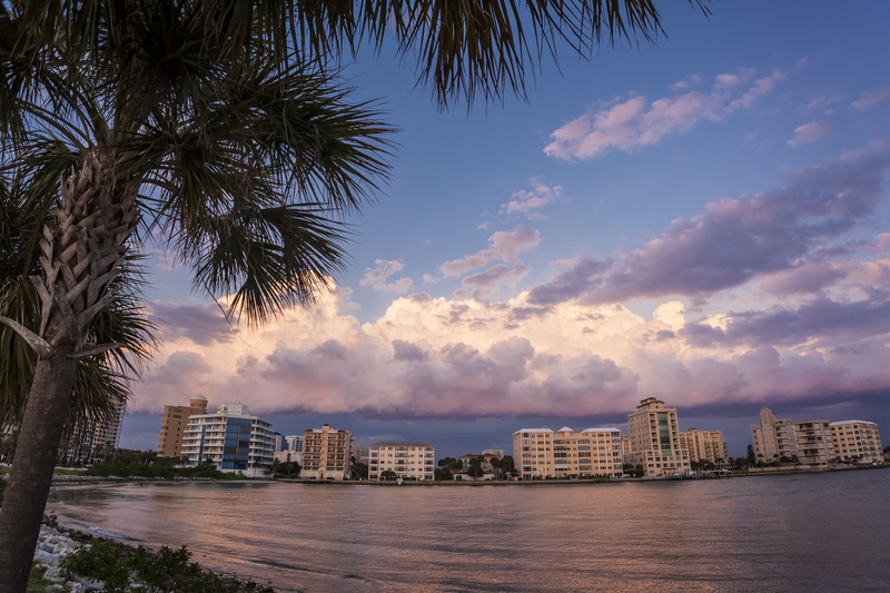 Sunset Along Florida's Culture Coast, Sarasota Florida