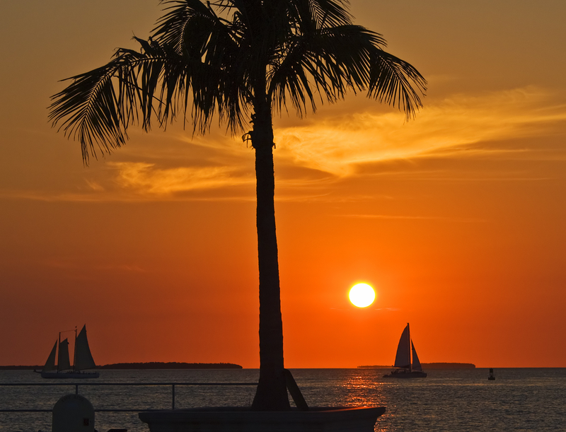 Sunset Key West Florida