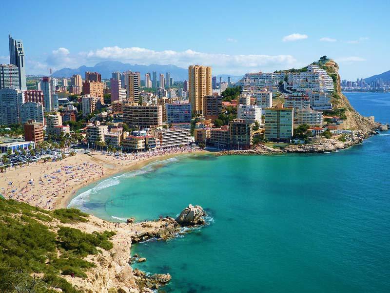 Coastline of Alicante, Spain