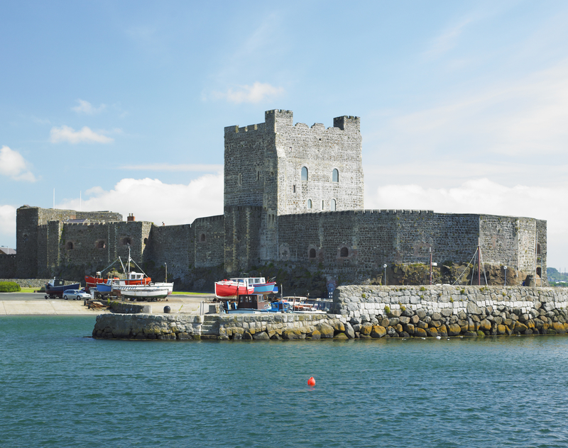 Carrickfergus Castle in Northern Ireland