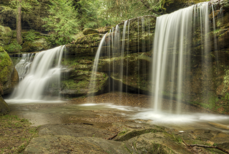 Cedar Falls in Hocking Hills Ohio
