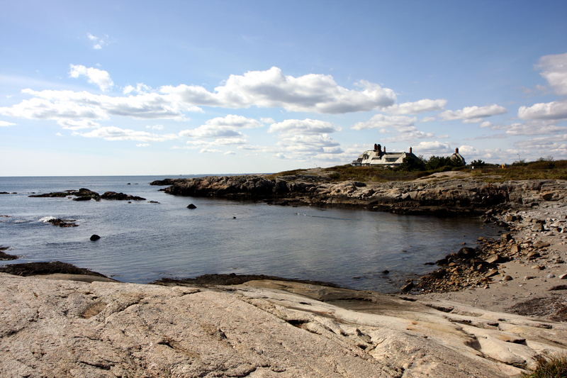 Newport's cliff-walk view, Rhode Island