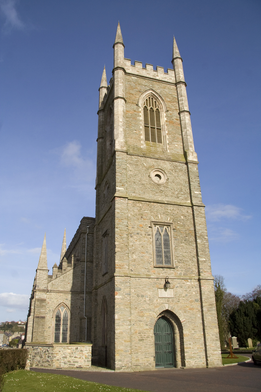 St.Patricks Down Cathedral, Downpatrick, Northern Ireland