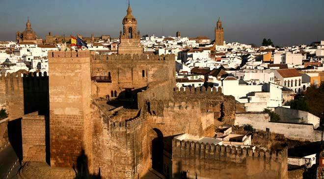 Alcazar  Puerta Sevilla, Carmona, Spain
