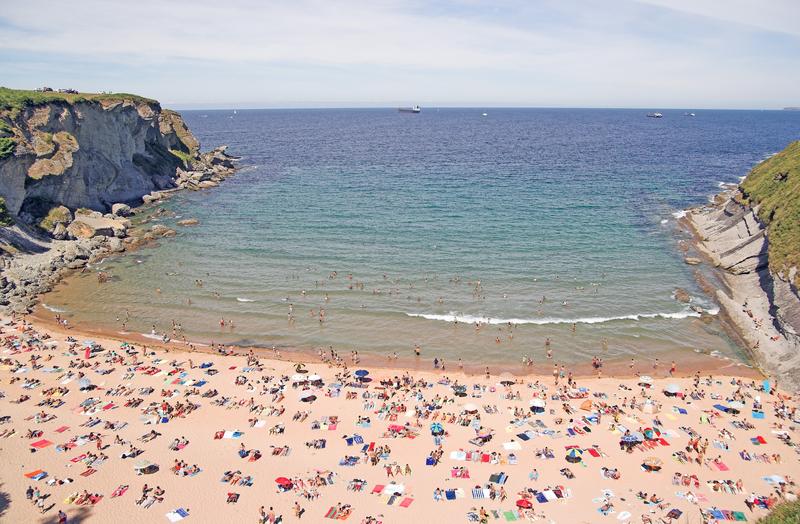 Horseshoe Beach North Spain Cantabria Santander