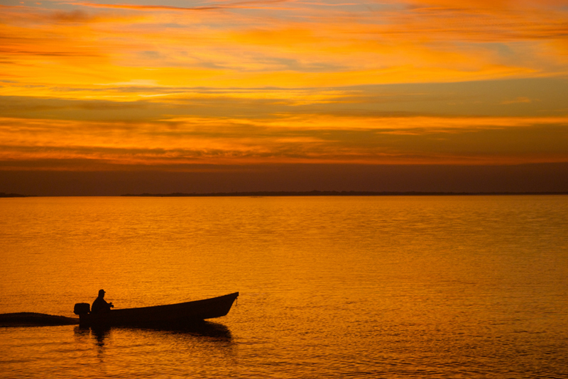 Sunrise, La Pesca, Tamaulipas State, Mexico Photo By Andres Tortoriello